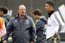 USB drive bust-up between Ronaldo and Benitez