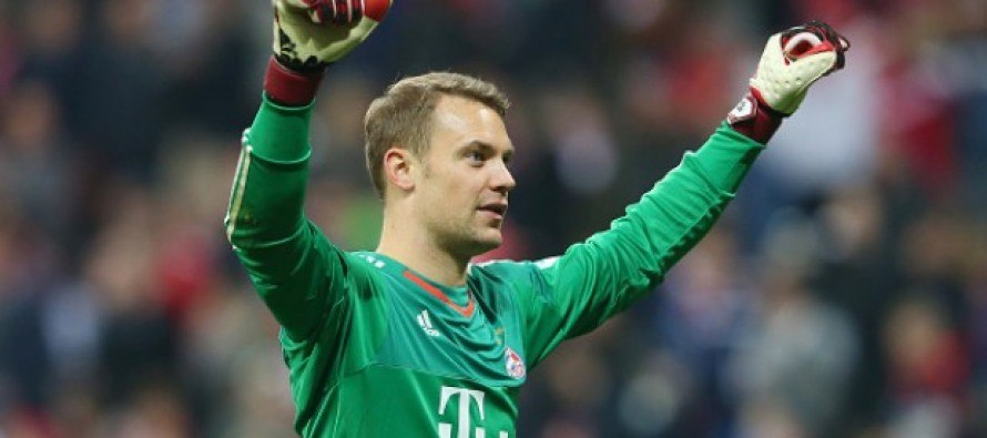 Neuer extends Bayern contract until 2021