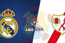 Real Madrid up against Rayo Vallecano in La Liga