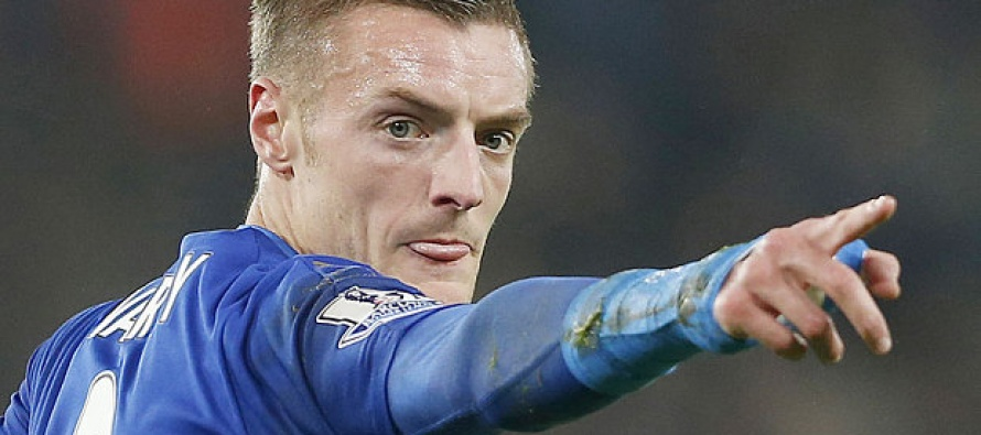 Vardy charged after red card row