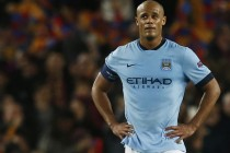 Man City's Kompany ruled out of PSG game
