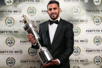 Mahrez named England's Player of the Year