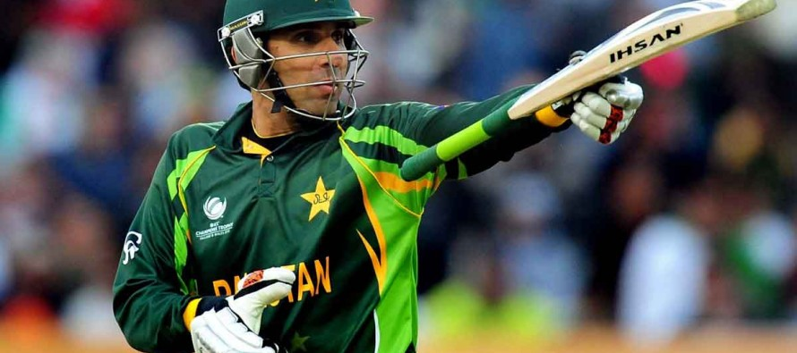 The calm and composed Misbah steers Islamabad to the victory