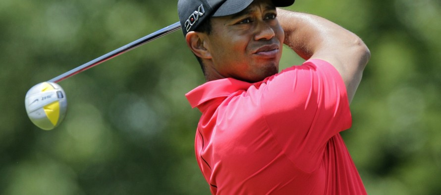 Woods on mend, no timetable for return
