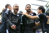 Leicester set for Premier League title party