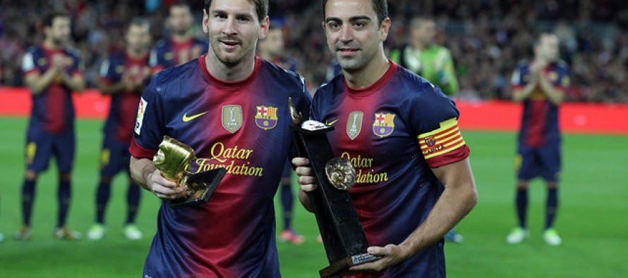 Messi never cheats says former teammate Xavi