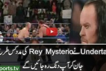 Smackdown – Undertaker Saves Rey Mysterio