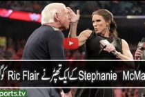 """Ric Flair Wants to Fight Shane McMahon & Gets Slapped by Stephanie McMahon """"WWE Raw 16th May 2016"""""""