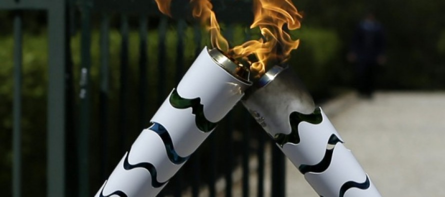 Olympic torch to land in middle of Brazil crisis