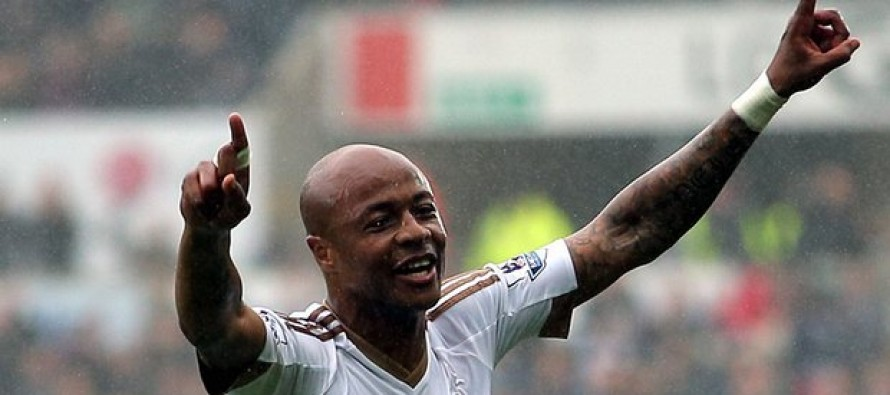 Swansea safe as Ayew downs Liverpool