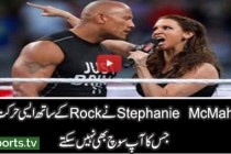 The Rock vs Test and Stephanie McMahon