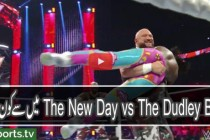 The New Day vs The Dudley Boyz: Raw, May 9, 2016