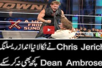 "Chris Jericho dishes out some ""crazy"" payback on Dean Ambrose: SmackDown, May 12, 2016"