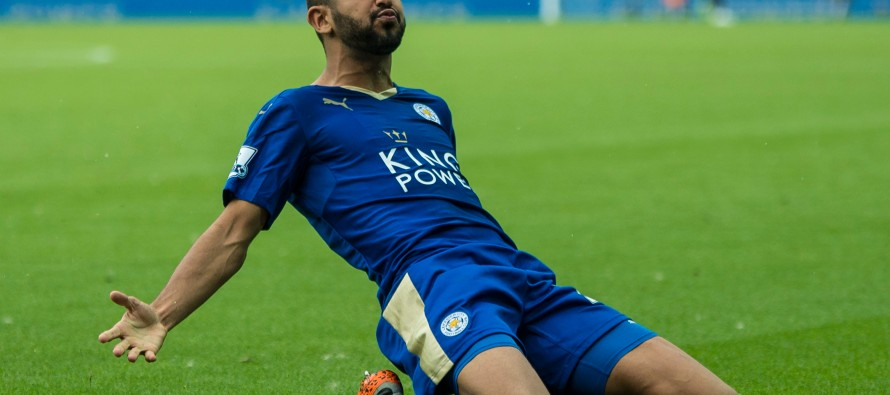 Agent casts doubt over Mahrez's future at Leicester City