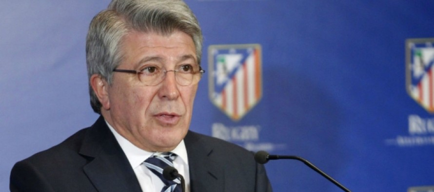 Atletico president rejects 'ugly' football slur