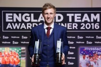 Root claims England awards triple