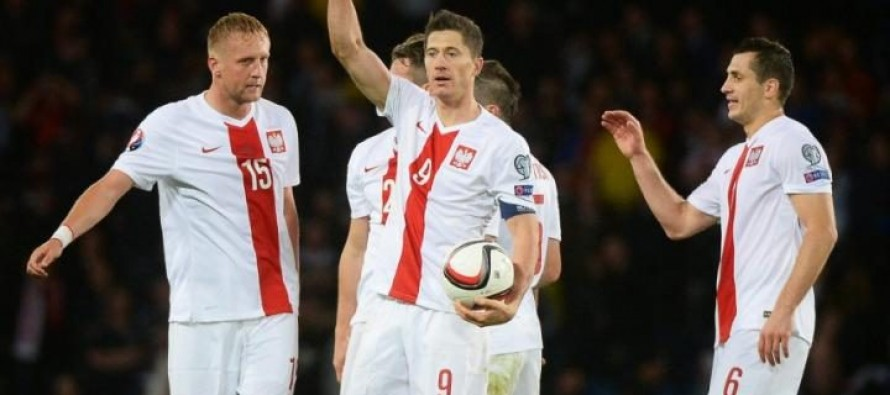 Lewandowski leads Poland squad for Euro 2016