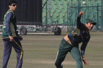 Misbah and Younis perform outstanding in the fitness drills