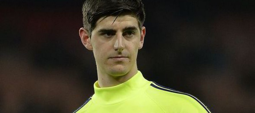 Courtois pledges to stay at Chelsea next season