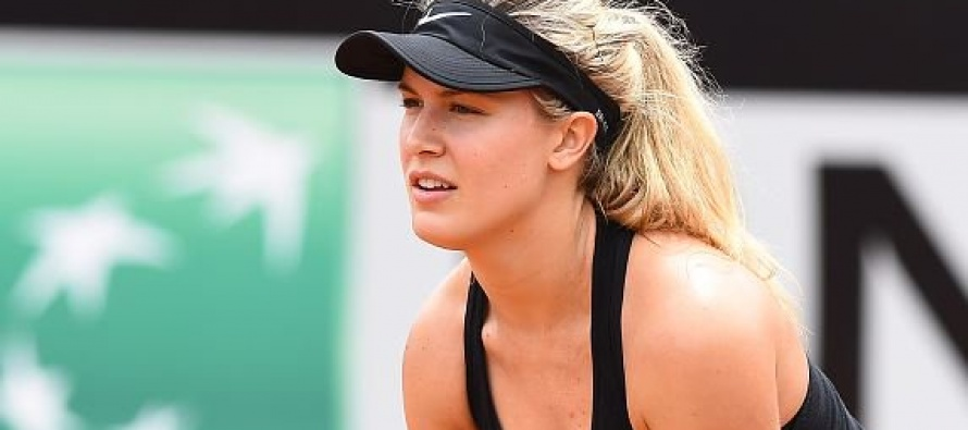 Eugenie Bouchard opens up about weight loss