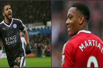 Mahrez and Martial scoop Facebook awards