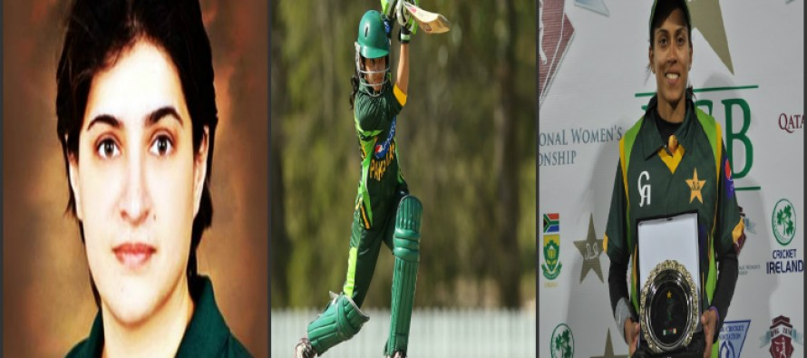 Three Pakistani women cricketers who have scored a century