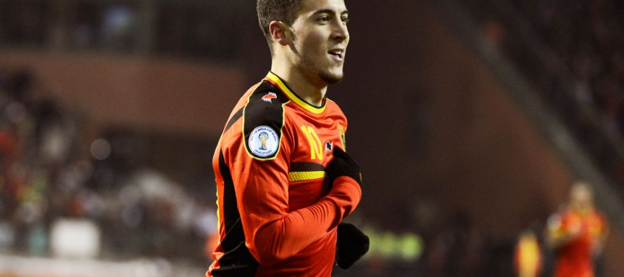 Hazard says he's back to 100% for Euros