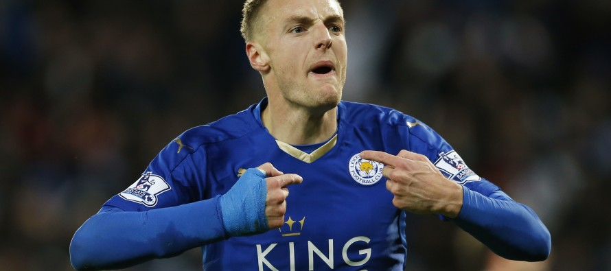 Leicester striker Vardy gets top award