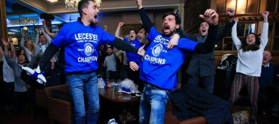Sleepy Leicester awoken by a king and the gods of football