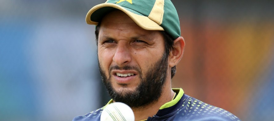 """We should concentrate on quality to meet the international standards"", says Afridi"