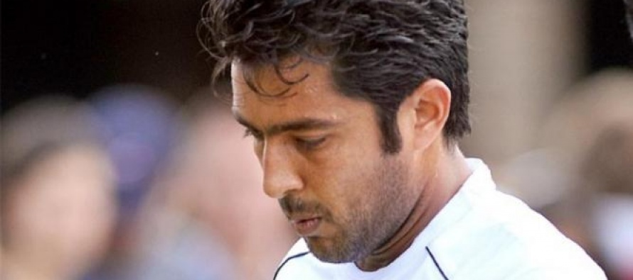 Aisam-ul-Haq crashes out of French Open