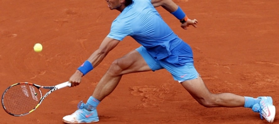 Flawless Nadal races into French Open second round