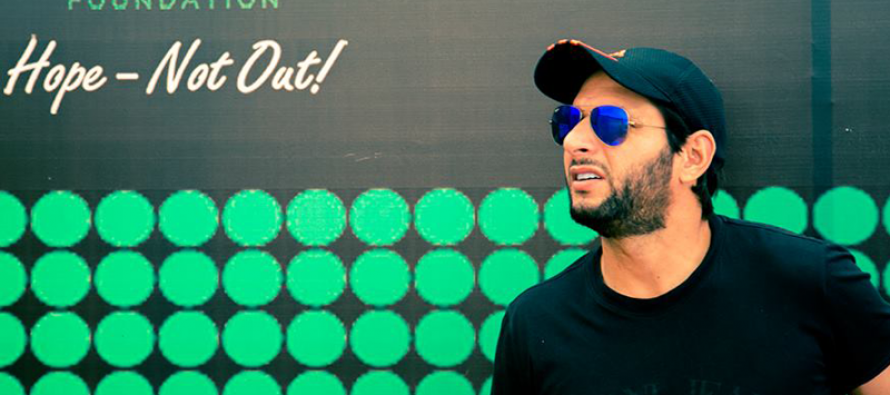 Shahid Afridi Foundation fundraising T20 match to be played tomorrow