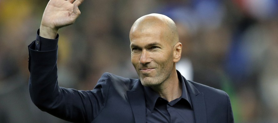 Zidane dreaming of Real Madrid title win