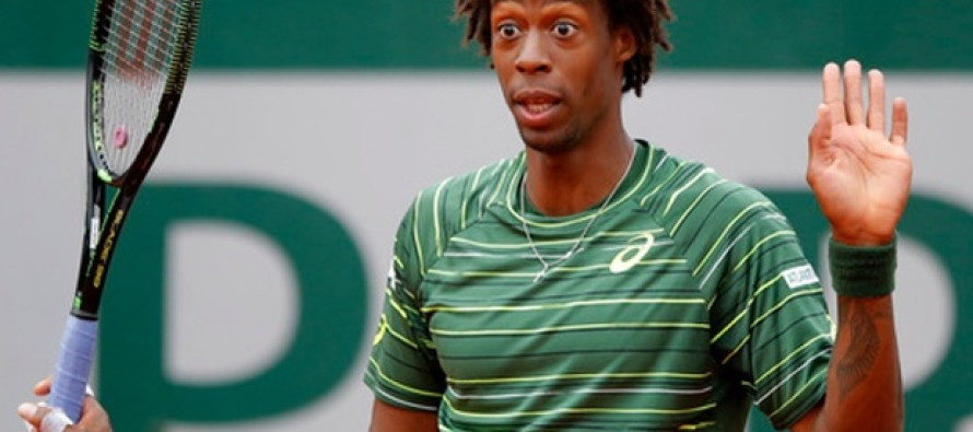 Sick Monfils withdraws from French Open