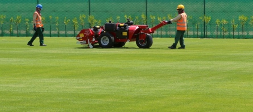 Qatar testing turf able to survive desert sun for 2022 World Cup