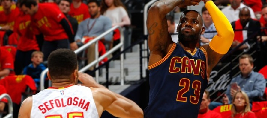 Cavs sweep into Eastern finals, Thunder pull level with Spurs