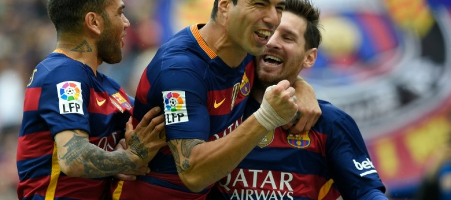 Barca on brink of title in final day showdown