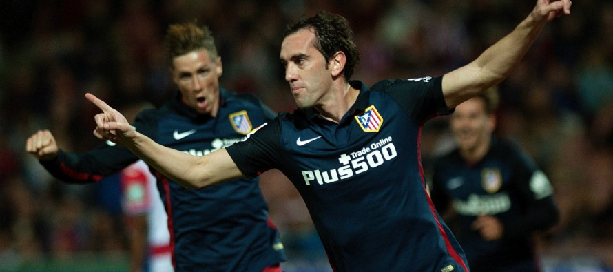 Godin happy to see Barca crowned La Liga champions