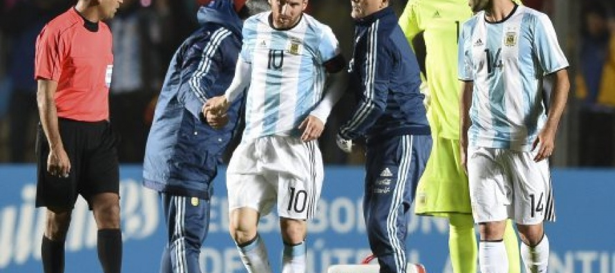 Messi scare as Argentina down Honduras