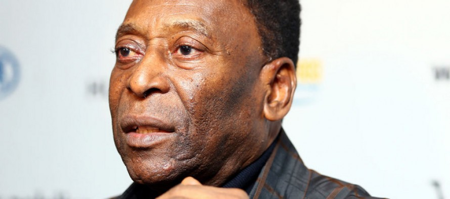 Football great Pele saddened by Brazil's political woes