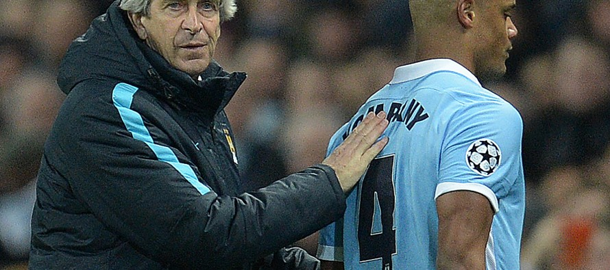 Man City hopes on knife-edge as Pellegrini bows out