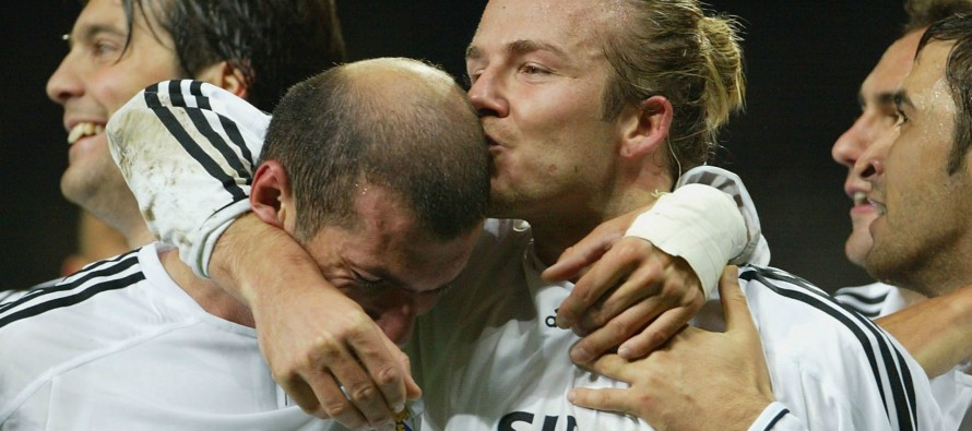 Beckham wants Zidane at Real Madrid regardless of UCL final result