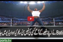 Batista attacks World Heavyweight Champion Undertaker