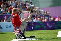 Disabled sports personalities making a difference