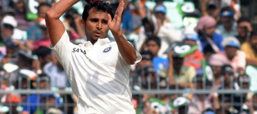 Shami in the pink over conditions for day-night tests