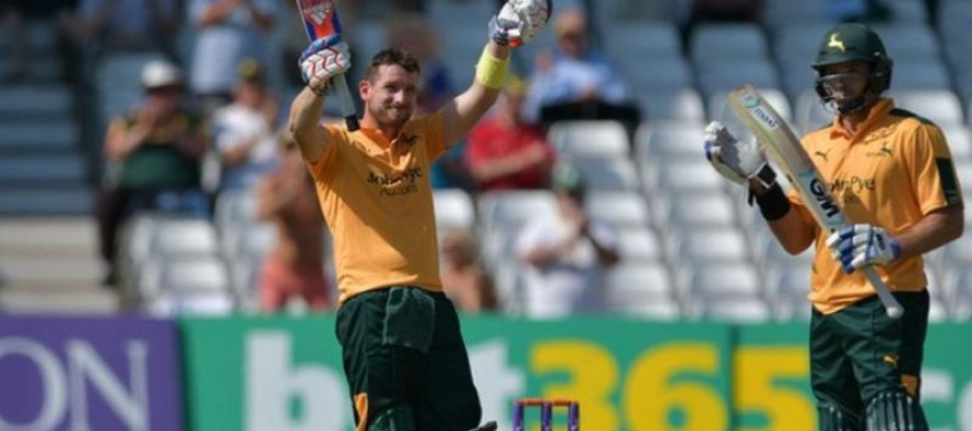 Records tumble in English county one-day game