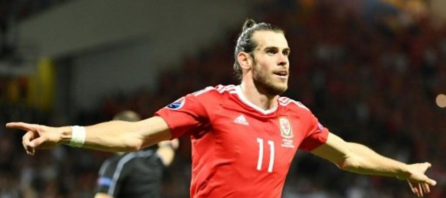 Bale's Wales delight at taking top spot from England