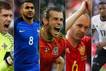 Euro 2016 – five stars of the group phase