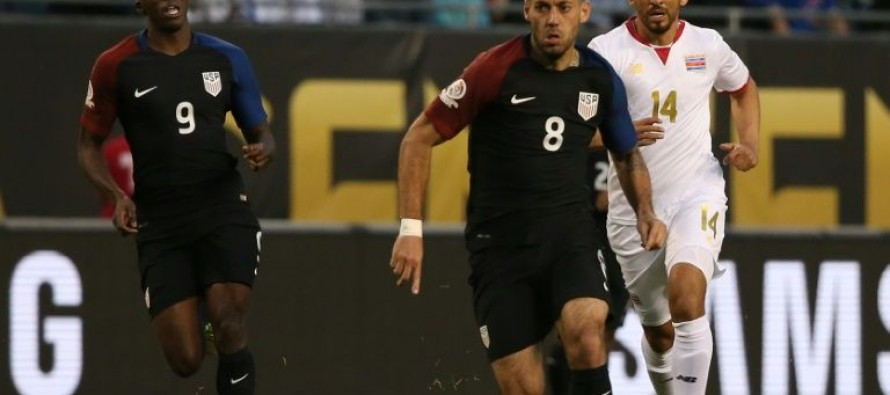 Dempsey nets 50th as USA rout Costa Rica